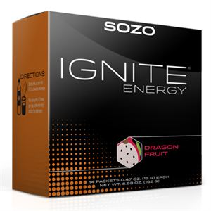 Picture of SOZO® Ignite Energy - Dragon Fruit (14 packets)
